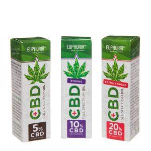 Euphoria - CBD Öl 5 - 20% CBD