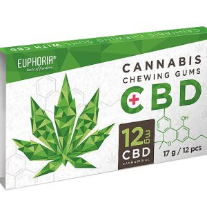 Euphoria Cannabis Kaugummi mit 12mg CBD