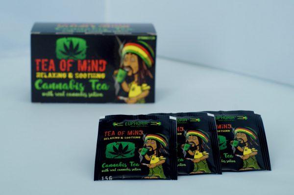 Euphoria - Cannabis Tea Mind (20 Teebeutel)