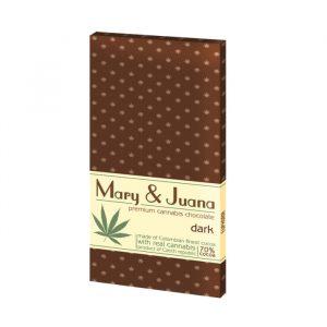 Euphoria Schokolade Mary Juana - Dunkel