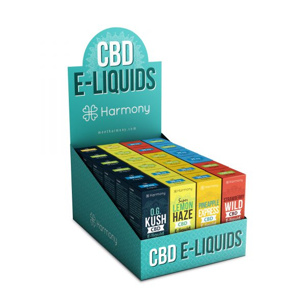 Harmon CBD E-Liquids
