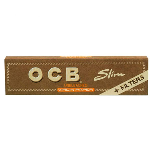 OCB slim unbleached long mit tips