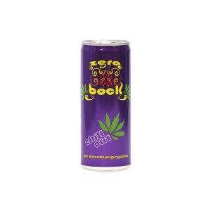 Zerobock der alkoholfreie Cannabis Erfrischungsdrink 250ml
