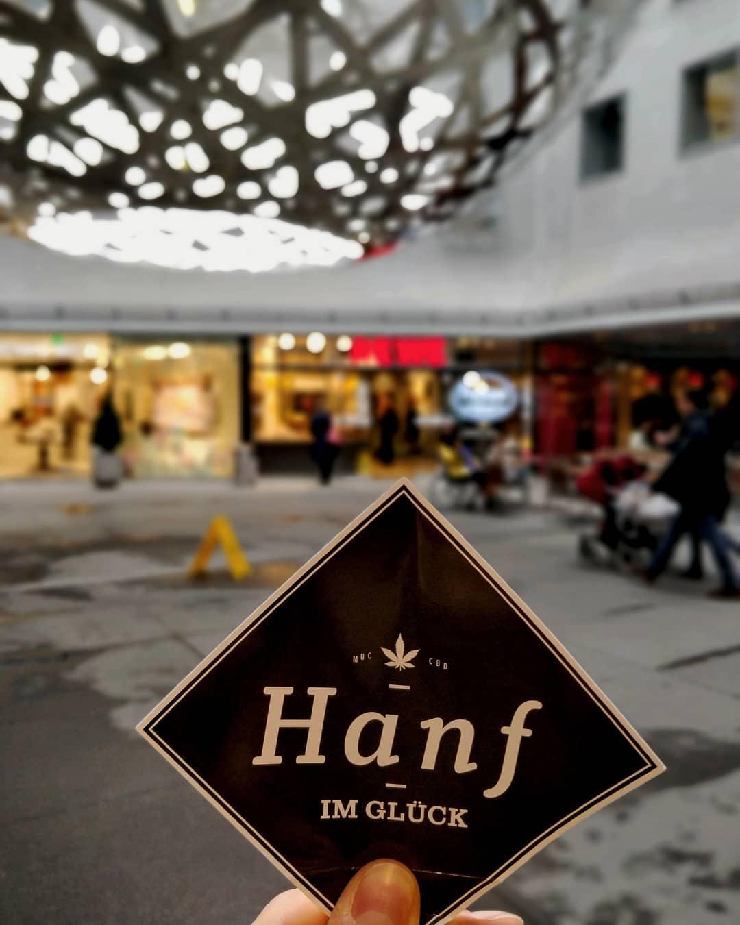 Rewe Fünf Höfe München CBD Hanf Pop Up Store