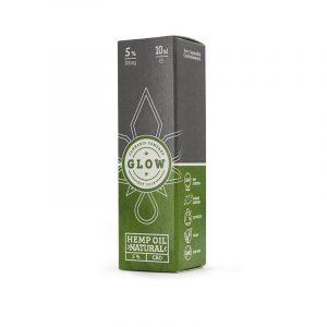 GLOW CBD ÖL 5% Verpackung