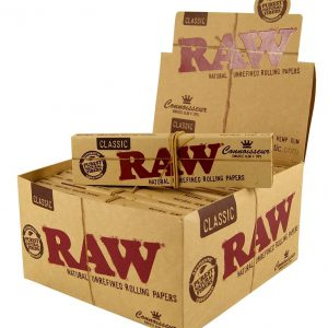 RAW Rolling Papers Unrefined BOX