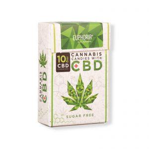 Euphoria CBD Cannabis Candies mit 10mg CBD