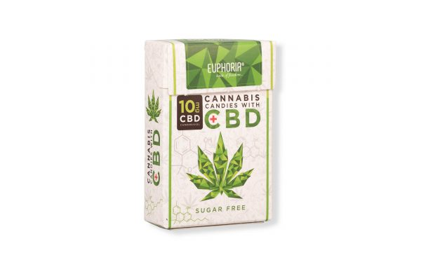 Euphoria CBD Cannabis Candies mit 10mg CBD