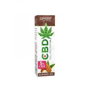 Euphoria CBD Öl mit Mandel