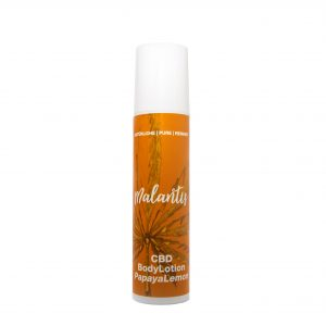 Malantis CBD Body Lotion Papaya Lemon