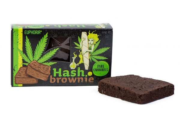 Euphoria Hash Brownie Cannabis Pure