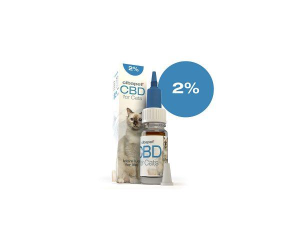 Cibapet CBD Öl für Katzen mit 2% CBD