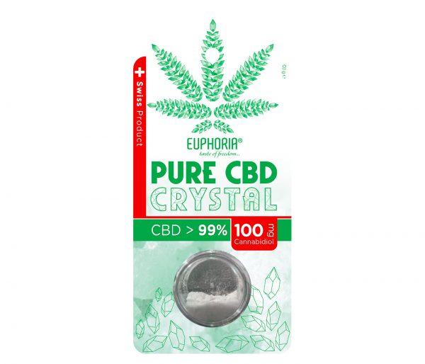 Euphoria Pure CBD Crystal 100mg