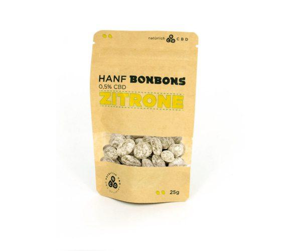 Natürlich CBD Hanf Bonbons mit CBD