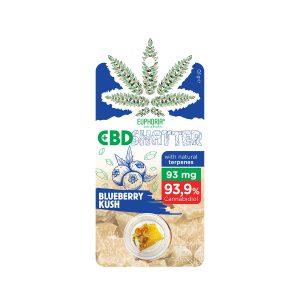 Euphoria CBD Shatter Blueberry