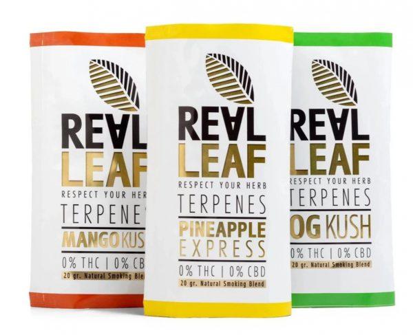 Real Leaf Kräutermischung mit Cannabis Terpenen