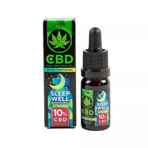 Euphoria CBD Öl 10% Terpene Sleep Well