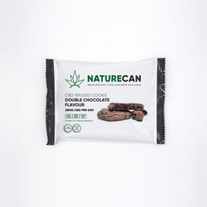 CBD Cookie DoubleChoc NatureCan