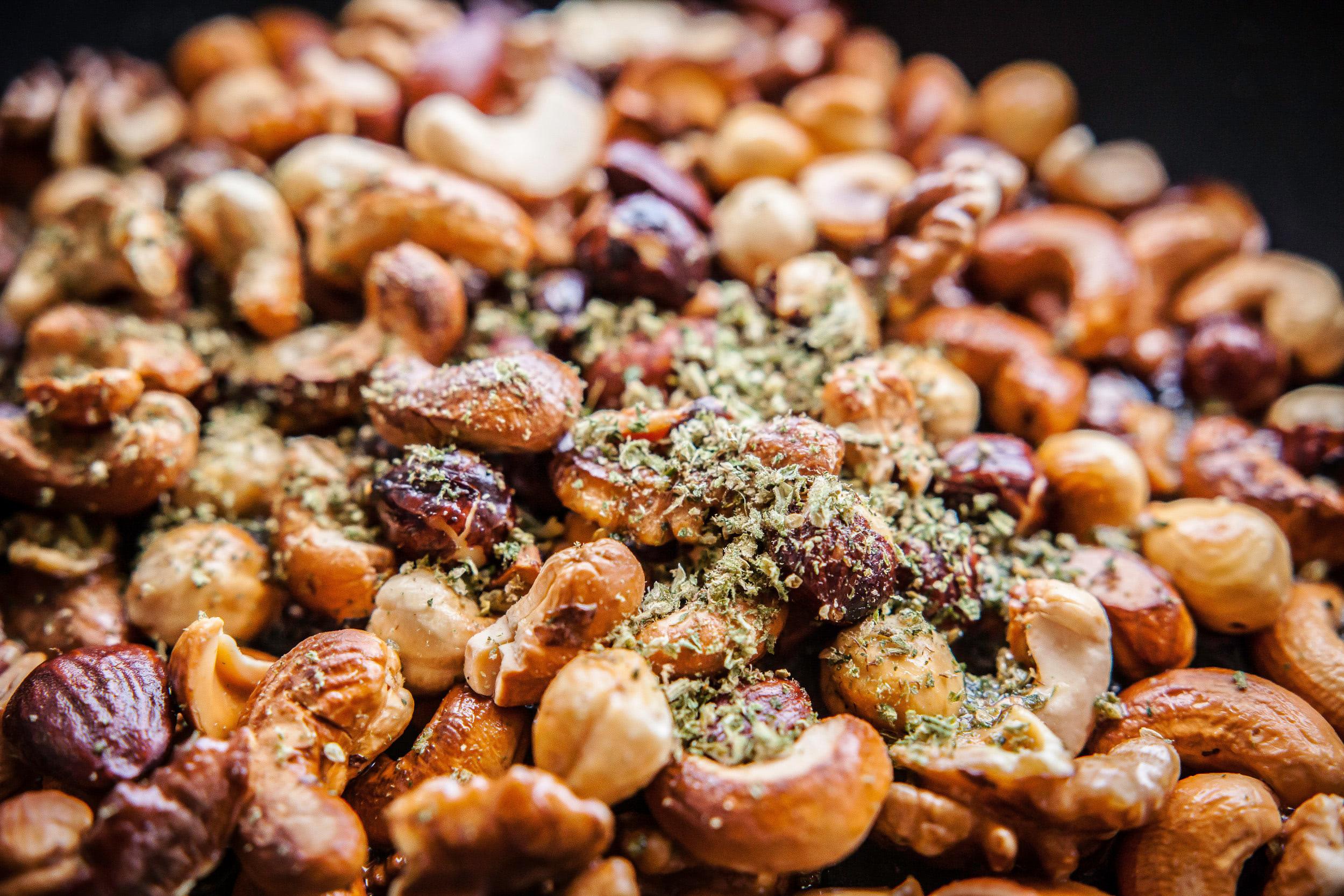 Rezept Geröstete Amesia Nüsse