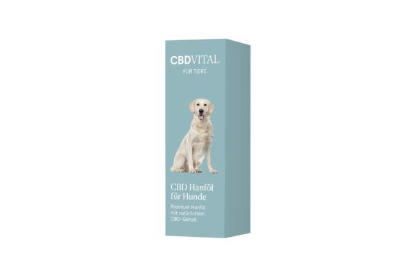 CBD Vital Hanföl für Hunde Verpackung