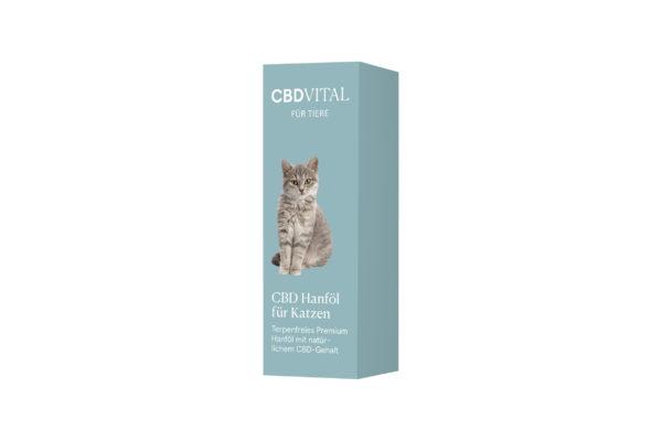 CBD Vital Hanföl für Katzen Verpackung