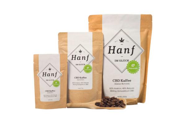Hanf im Glück CBD Kaffee
