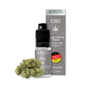 CBD Liquid Breathe Organics Super Silver Haze