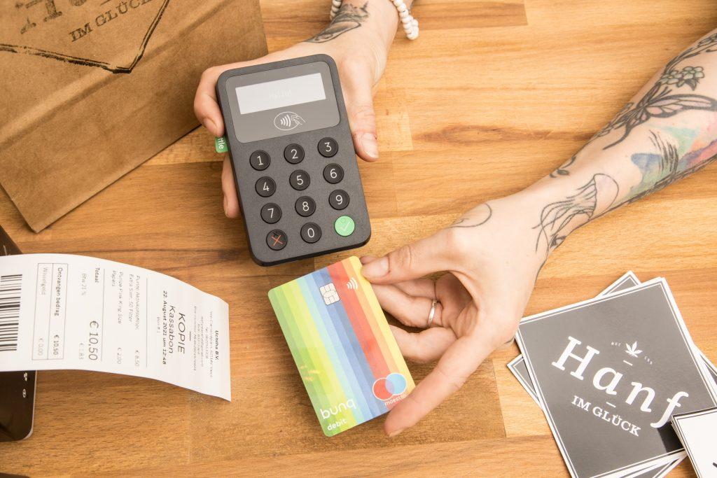 Hanf im Glück Maastricht Kartenzahlung Kreditkarten Maestro V-Pay